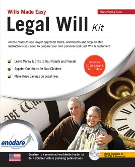 Legal Will Kit