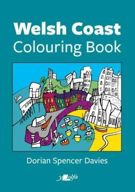 Welsh Coast Colouring Book